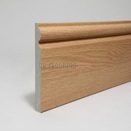Boen Chalet and Chaletino Oak Pearl Country pearl white pigmented, 4V bevel Matching skirting Live Natural