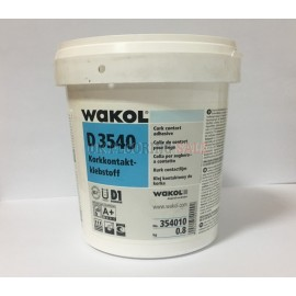WAKOL D 3540 Cork Contact Adhesive 0.8Kg - Coverage 200g/m2 [4m2]