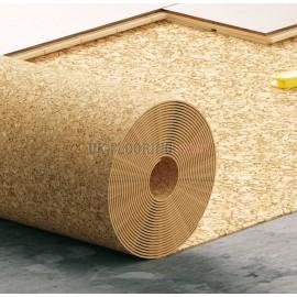 Cork underlay roll