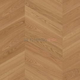 Boen Chevron Oak Adagio brushed Unfinished A-planks