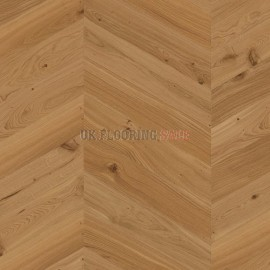 Boen Chevron Oak Animoso brushed 4V bevel Live Natural A-planks