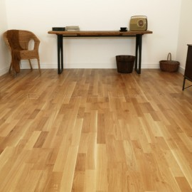3 Strip Rustic Oak 14mm