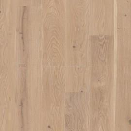 Boen Castle planks Oak Coral gleaming white pigmented, 2V bevel Live Natural