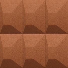 Granorte 3DForms Aztec Terracotta 300 x 300 x 30 mm  Wall Tiles