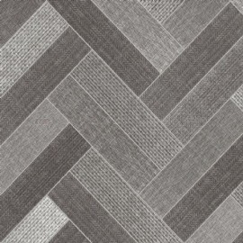 Trend-Tex Arden Twin Parquet Black Grey