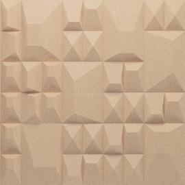 Granorte 3DForms Douro Pearl 4x Aztec - 300x300x30mm Wall Tiles