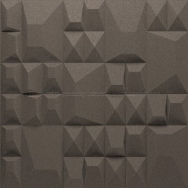 Granorte 3DForms Douro Smoke 4x Ramp - 300x300x30mm Wall Tiles
