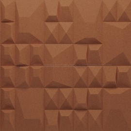 Granorte 3DForms Douro Terracotta 4x Aztec - 300x300x30mm Wall Tiles