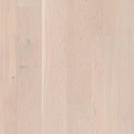 Boen Castle planks Oak Pearl white pigmented, 2V bevel Live Natural