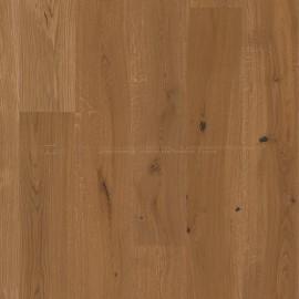 Boen Castle planks Oak Honey  brushed, warm brown pigmented, 2V bevel Live Natural brushed
