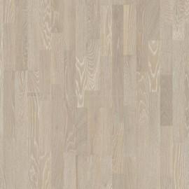 Boen 3-Strip Oak Grey Harmony --- brushed, white pigmented, 2V bevel Live Pure brushed