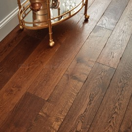 Woodpecker Chepstow Distressed Charcoal Oak