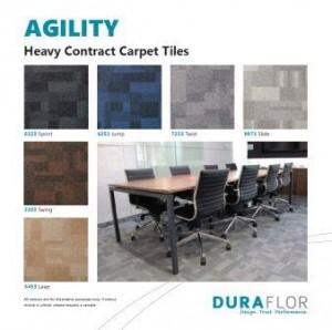 Duraflor Agility carpet tile -