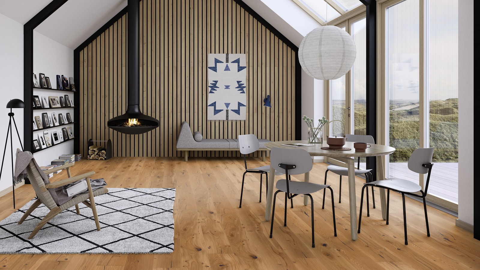 Boen flooring - room image