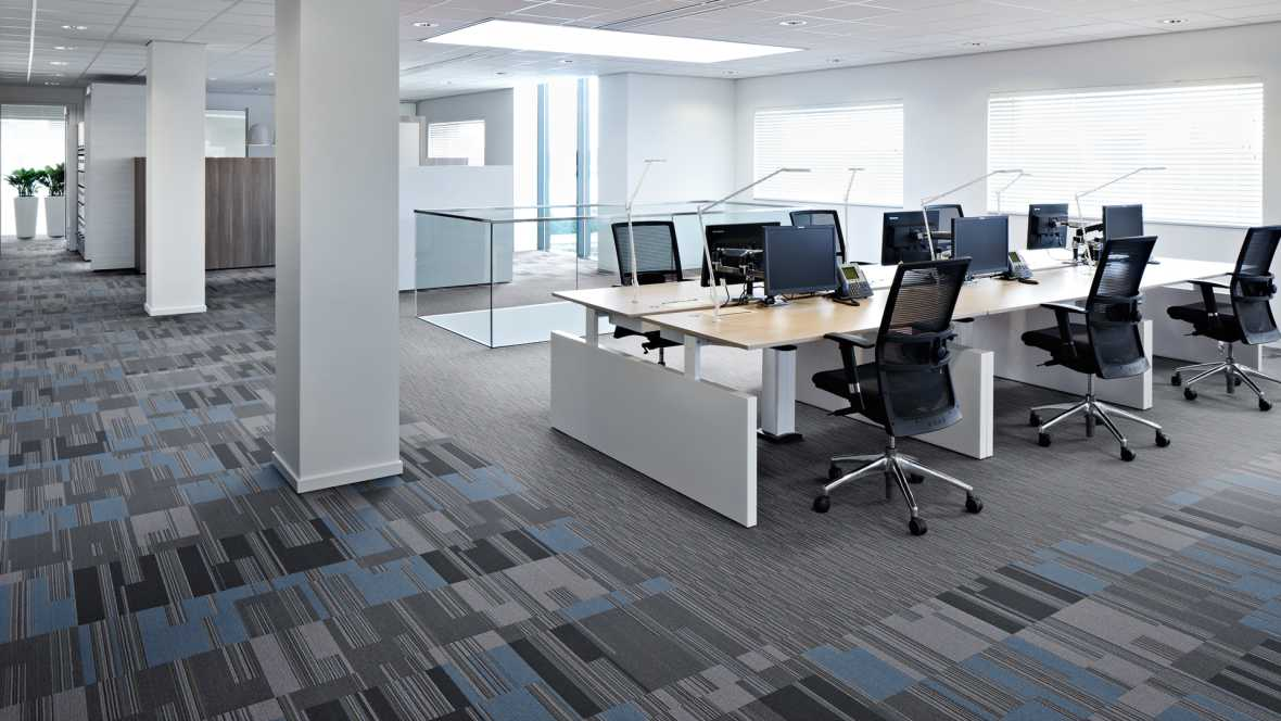 Office carpet tile London